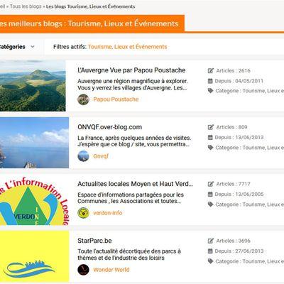 Meilleur blog sur l'Auvergne