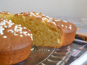 Gâteau à la crème fraiche