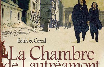 LA CHAMBRE DE LAUTREAMONT, BD, d'EDITH & CORCAL