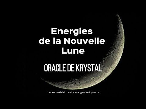 Nouvelle Lune 15 mai 2018 - Guidance Oracle de Krystal