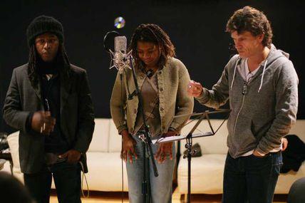 Mariano Beuve, dernières séances studio, avec Princess Erika et Marc Lavoine