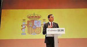 La proclamación de Pedro Sánchez