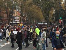 5000 personnes à Toulouse pour une manifestation de confinement