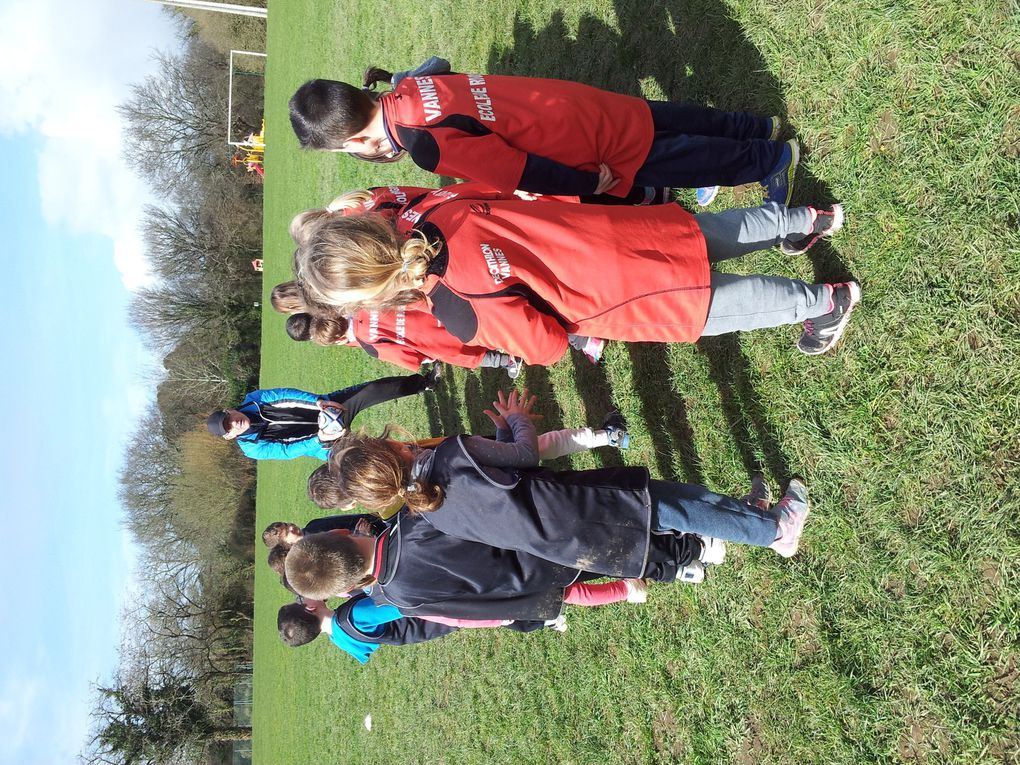 Les cycles 2 s'initient au RUGBY.