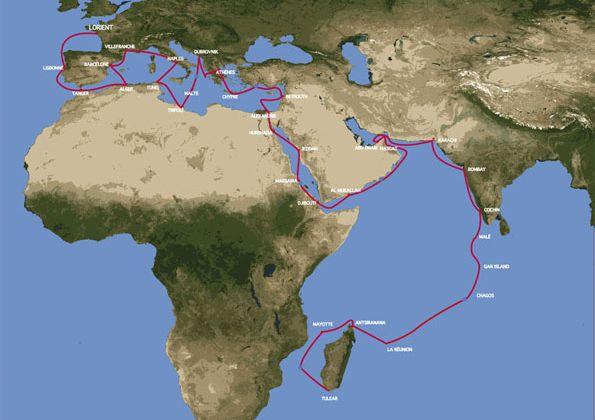 """Thalassa, l'expédition à bord de la """"Tara"""". De Lorient à Madagascar."""