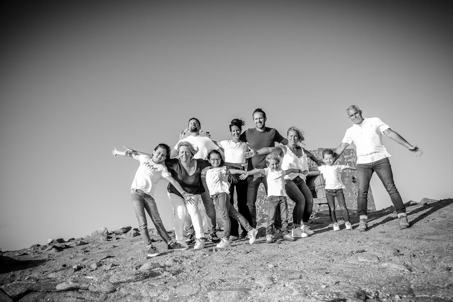 30 juillet - Séance à la pointe du Perchot avec la famille Lamour
