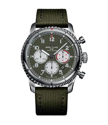 Breitling Aviator 8 Chronograph Automatic Watch AB01192A1L1X1