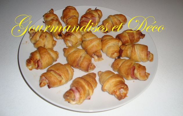 croissant jambon / fromage