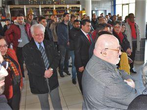 """"""" Heureusement que l'immigration fonctionne """" déclare le maire à l'anniversaire de l'association culturelle turque de Quimper"""