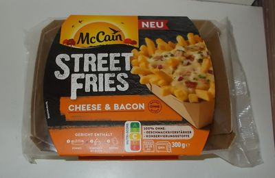 McCain Street Fries Cheese & Bacon
