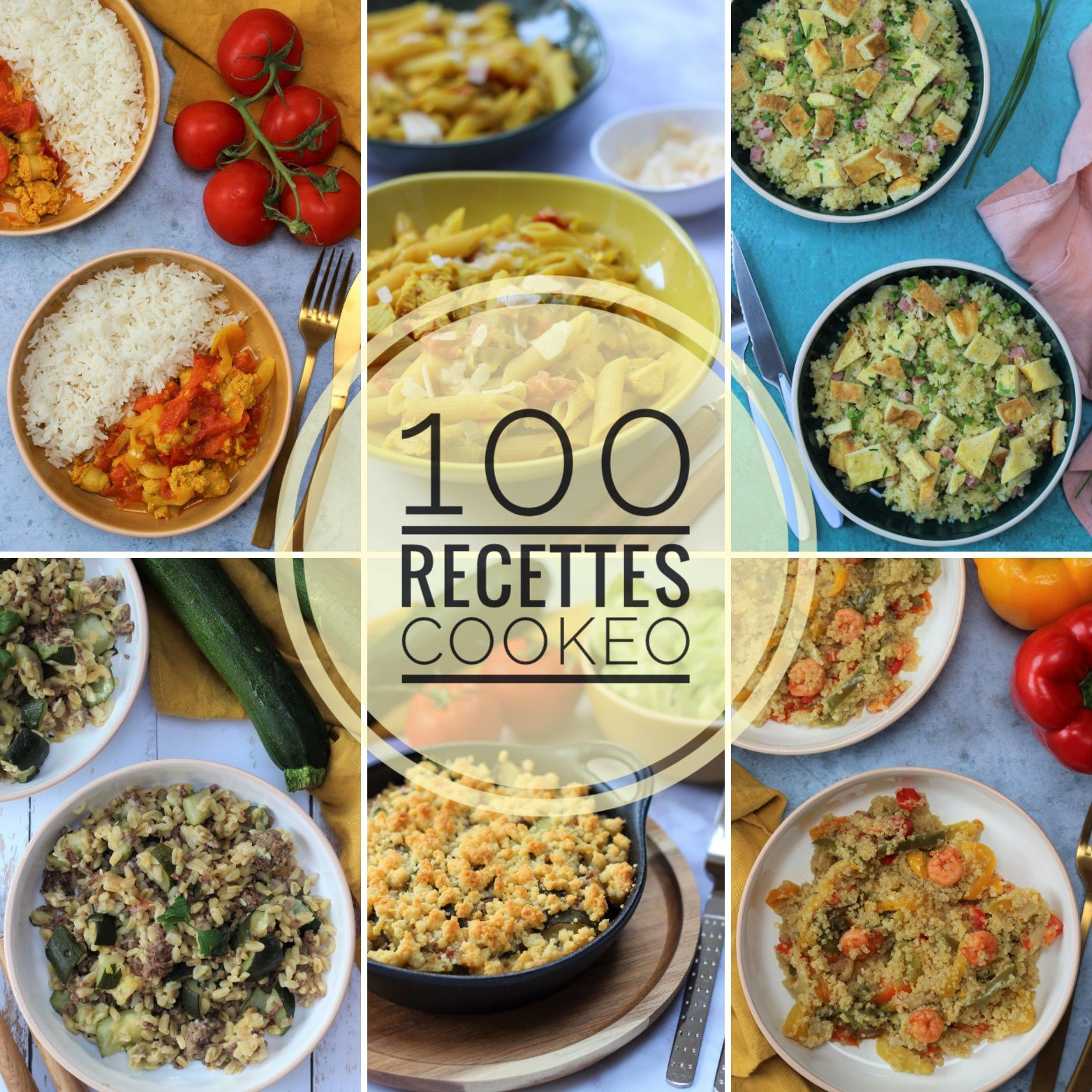 COMPIL RECETTES COOKEO