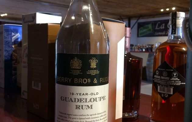 Guadeloupe 19Y Berry Bros and Rudd 'Specially Selected By And For The Nectar'