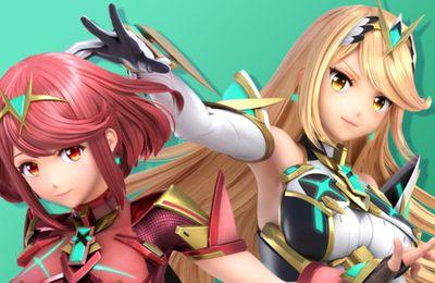 Super Smash Bros. Ultimate – Jouez avec Pyra et Mythra de Xenoblade Chronicles 2