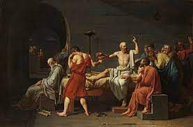 Socrate boit la cigüe