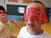 Jean Zay primaire - 4 et 5 ans_dégustation à l'aveugle et parcours sportif