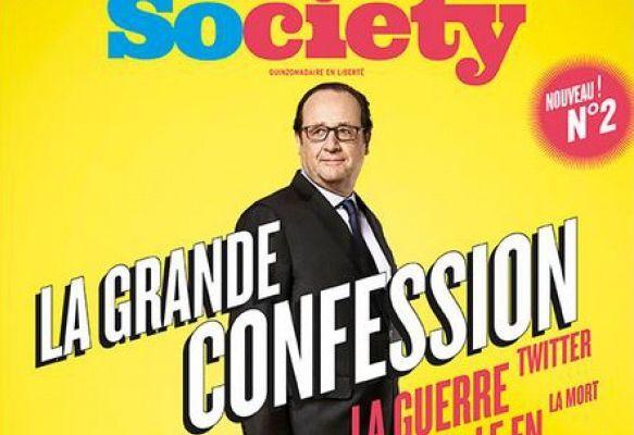 Dans les coulisses de l'interview de François Hollande par Society (Vidéo)