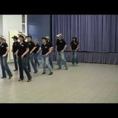 ROCK AND ROLL COWBOY CONTRA - NEW SPIRIT OF COUNTRY DANCE - line dance