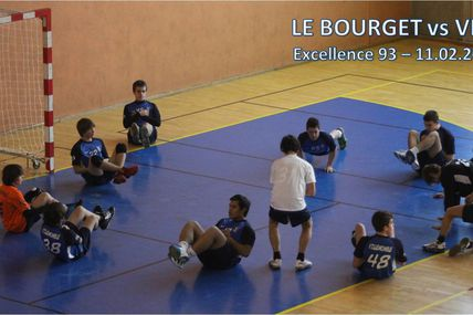 -16M2 LE BOURGET vs VHB (Excellence 93 - 10.02.2012)