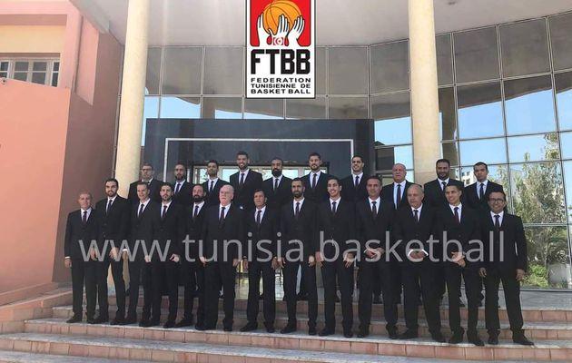 Coupe du monde FIBA 2019 : Présentation des 12 joueurs tunisiens