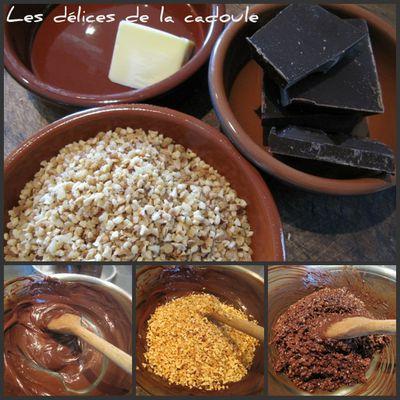 Rochers tout chocolat