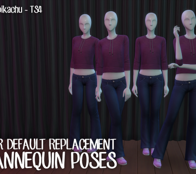 Pose remplacement mannequin