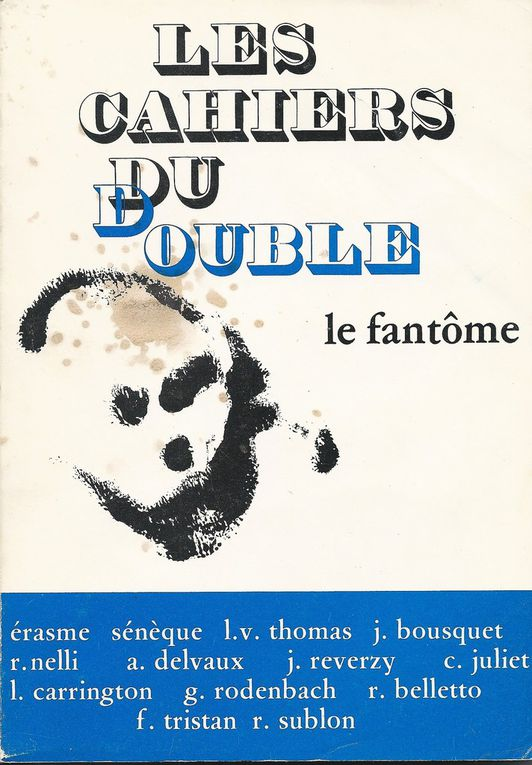"""Les Cahiers du double N°3/4 - """" Le Fantôme"""" - 1979"""