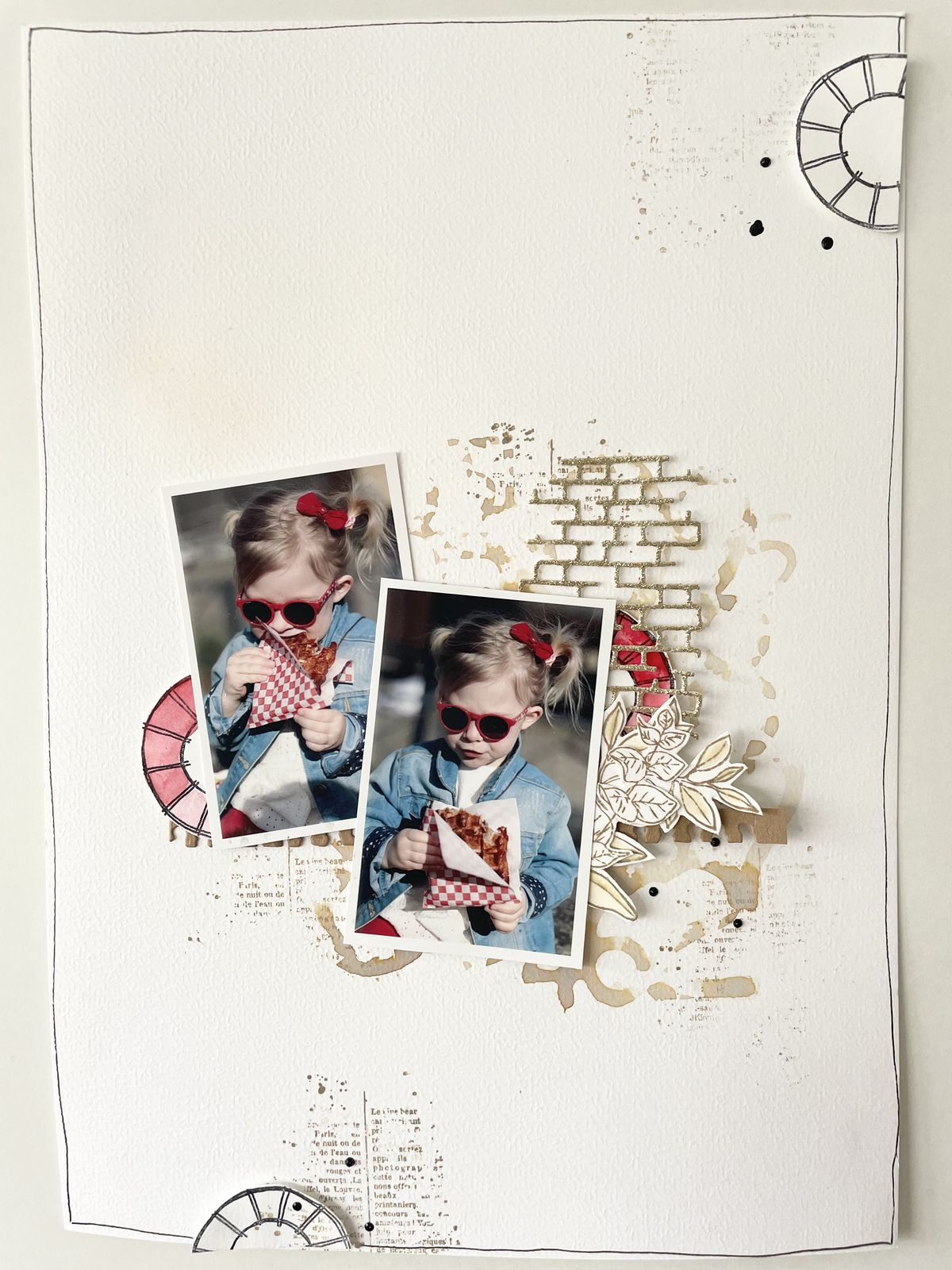 Marilyne: 1,2,3 pages ....