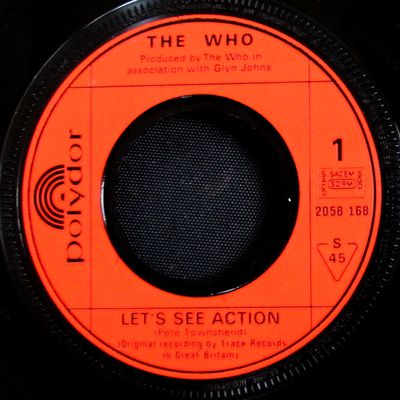 The Who - Let's see action / When i was a boy - 1971
