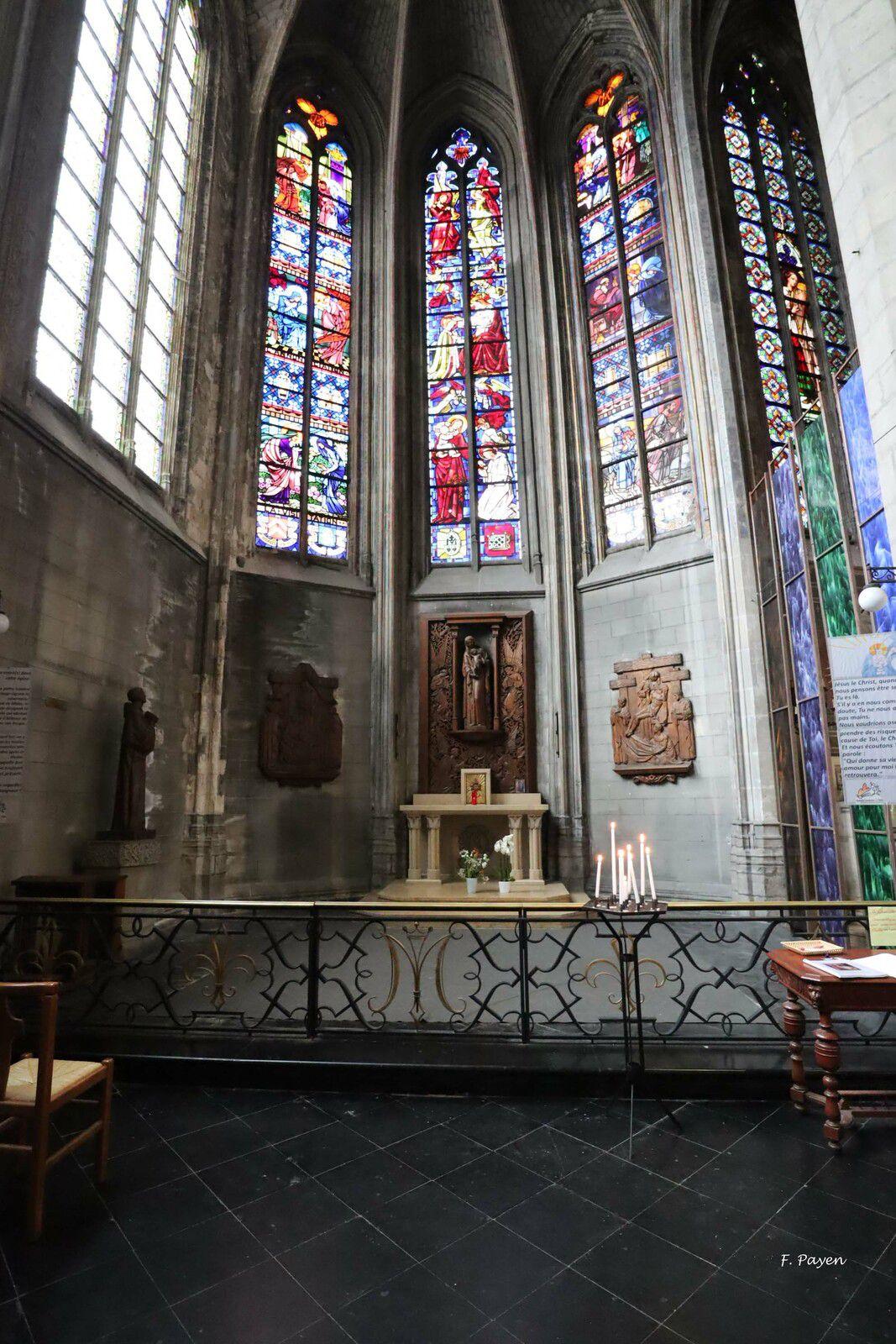 vitraux de l'église Saint-Maurice