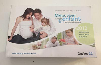 guide de la grossesse au 2 ans de l'enfant