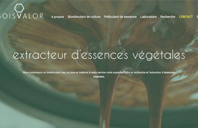Le site web de BOISVALOR : la dernière création de l'agence !