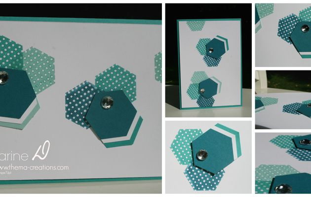 Carte Hexagone 2 # Stampin'Up !