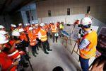 Nice:Chantier des stations souterraines de Durandy, Jean-Médecin et Alsace-Lorraine