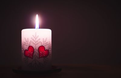 Bougie - Flamme - Coeur - Photographie - Wallpaper - Free