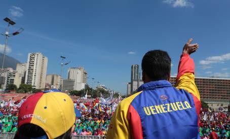 Venezuela : Les images de la manifestation pour la paix