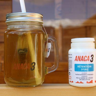"""Anaca 3 """"rétention d'eau"""" mon avis !"""