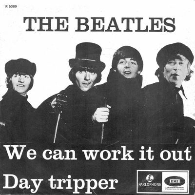 The Beatles We can work it out / Day tripper (Parlophone/EMI, 1965)