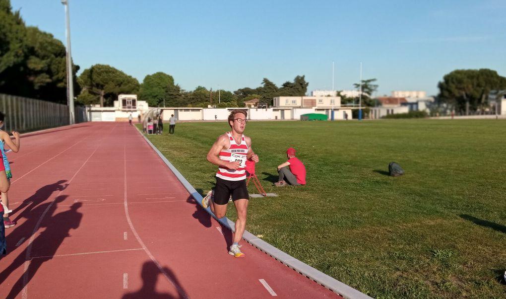 5000 m, première série.