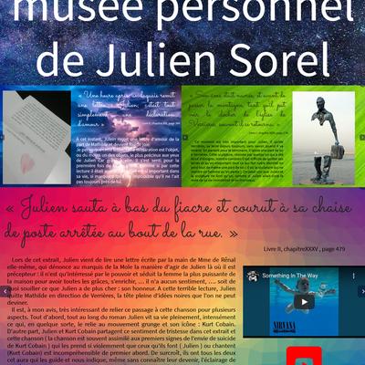 Le musée de Julien Sorel par Helios