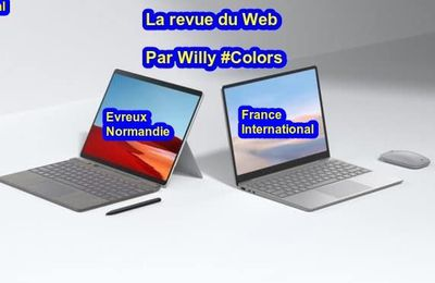 Evreux : La revue du web du 12 janvier 2021 par Willy #Colors