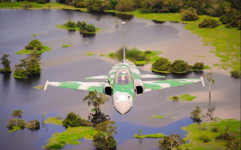 Un F-5FM de la Force aérienne brésilienne s'est écrasé au décollage