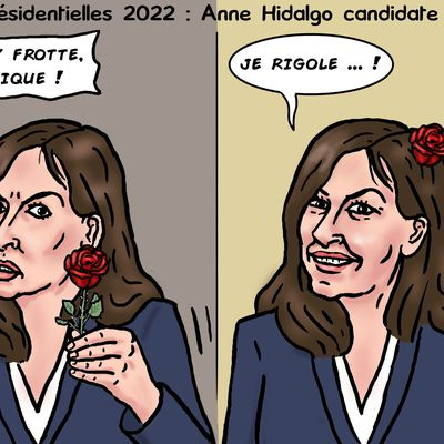 Anne Hidalgo candidate PS