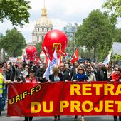 Manifestation du 17 mai 2016 à Paris