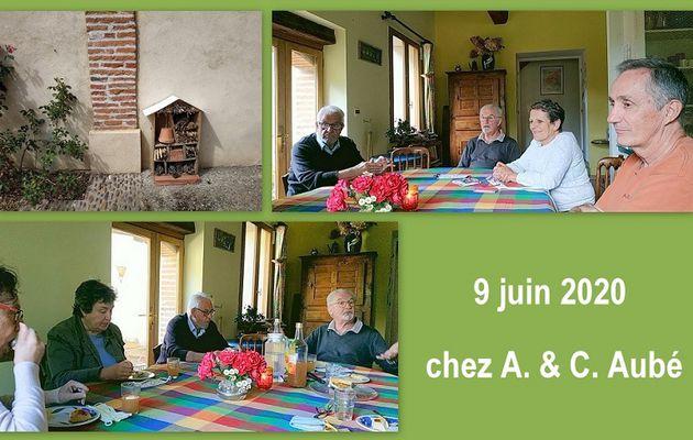 De vrais visages, des vraies voix ! - Rencontre du quartier, chez Chantal et Alex Aubé, le 9 juin 2020