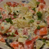 Salade pommes de terre maison cookeo |