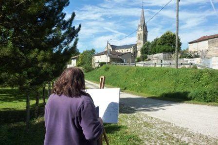 Album - Des peintres dans la vallée de la Saulx