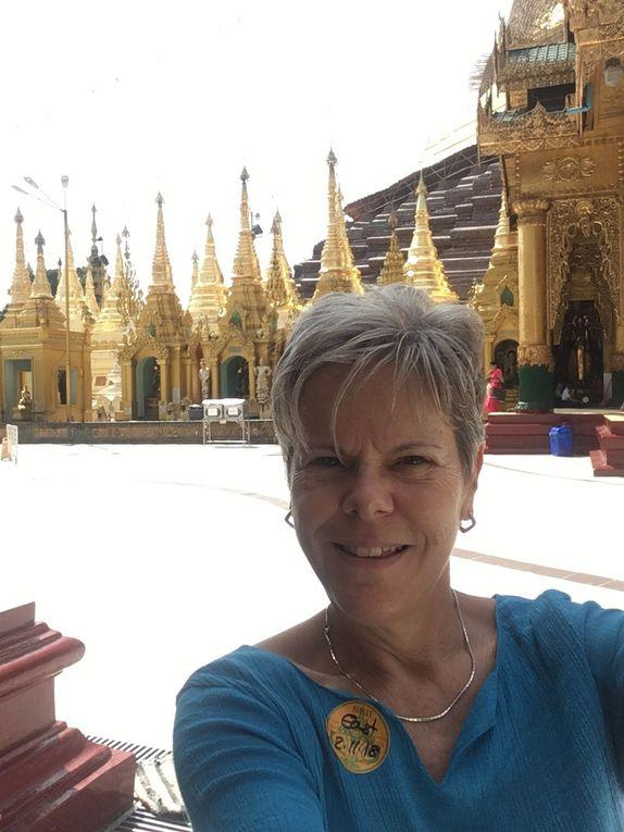 MYANMAR 🇲🇲 : Jour 1  à YANGON (ex-Rangoun)
