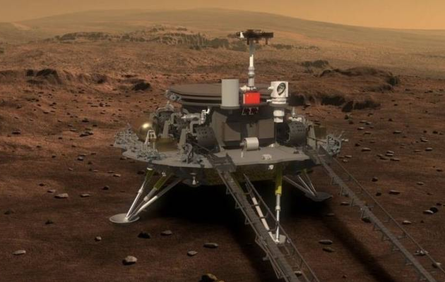 SPACE: China's Zhurong lands on Mars in latest advance for its space programme