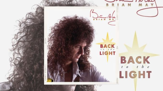 """Brian May – """"Back To The Light"""" Réédition le 06 Août"""
