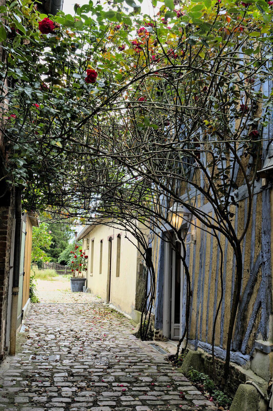 La rue de l'enfer est nommée ainsi pour rappeler le difficile travail des tanneurs. Cette ruelle menait à la tannerie.